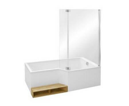 экран для ванны Bain Douche Neo E6d007 Ga хром Jacob Delafon купить в екатеринбурге низкие цены товары в наличии баумастер