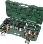 Расширитель-калибратор KRAFTOOL для муфт под пайку труб из цв мет d 10,12,15,18,22,28мм, 1/4″,3/8″,1/2″,5/8″,3/4″, бокс 23650-H12